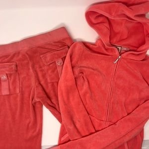 Juicy Couture Terry Jacket and Pants